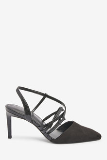 Next Strappy Asymmetric Slingbacks-Regular - 265652