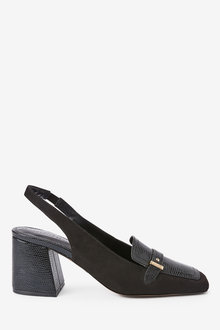 Next Hardware Slingback Loafers - 265665