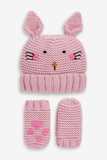 Next Character Hat & Mittens Set (Younger) - 265674