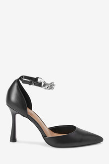 Next Ankle Chain Two Part Heel Shoes - 265676