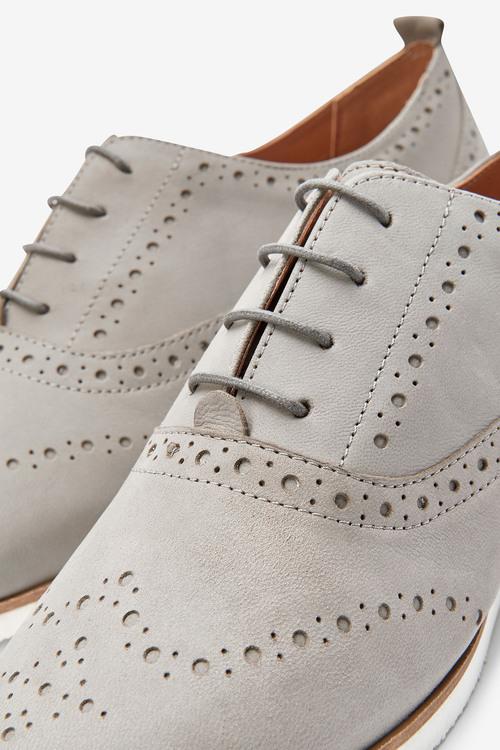 Next EVA Leather Brogues-Regular