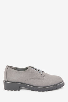 Next Forever Comfort Studded Chunky Sole Lace-Ups-Regular - 265788