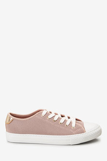 Next Baseball Lace-Up Trainers-Wide - 265800