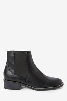 Next Forever Comfort Stud Detail Chelsea Boots-Regular - 265801