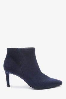 Next Forever Comfort Chisel Toe Ankle Boots-Regular - 265804