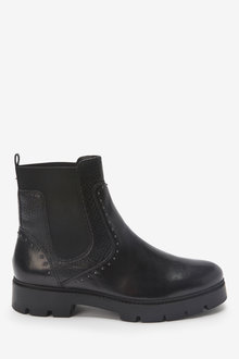 Next Forever Comfort Studded Chunky Chelsea Boots - 265818