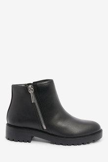 Next Forerver Comfort Side Zip Moto Boots - 265819