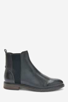 Next Forever Comfort Leather Chelsea Boots-Regular - 265822