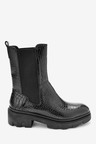 Next Forever Comfort Super Chunk Croc Effect Boots