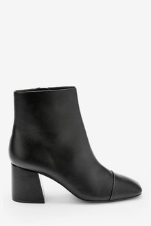 Next Forever Comfort Square Toe Ankle Boots - 265834