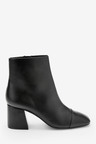 Next Forever Comfort Square Toe Ankle Boots