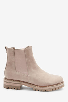 Next Forever Comfort Chunky Casual Chelsea Boots-Regular - 265840