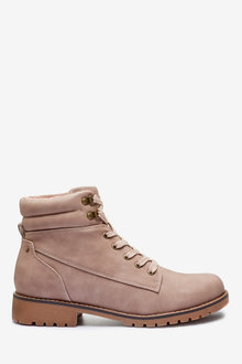 Next Forever Comfort Casual Lace-Up Boots-Regular - 265841