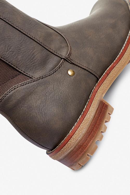 Next Forever Comfort Chunky Knee High Boots-Regular