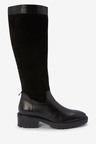Next Signature Knee High Mixed Material Boots