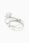 Next Halo Solitaire Ring Pack