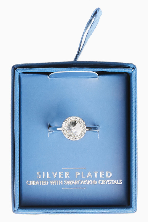 Next Sparkle Ring With Swarovski Crystals