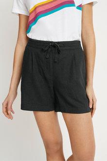 Next Linen Blend Shorts - Tall - 266097