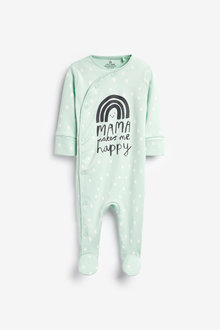 Next RaiNewbornow Mama Sleepsuit (0-18mths) - 266113
