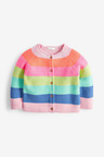 Next Fluro Rainbow Stripe Cardigan (3mths-7yrs)