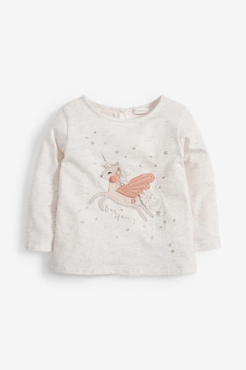 Next Unicorn Long Sleeve T-Shirt (3mths-7yrs)