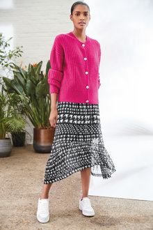 Next Mesh Midi Skirt - Tall - 266148