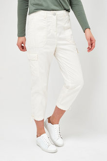 Next Cropped Utility Trousers - Tall - 266192