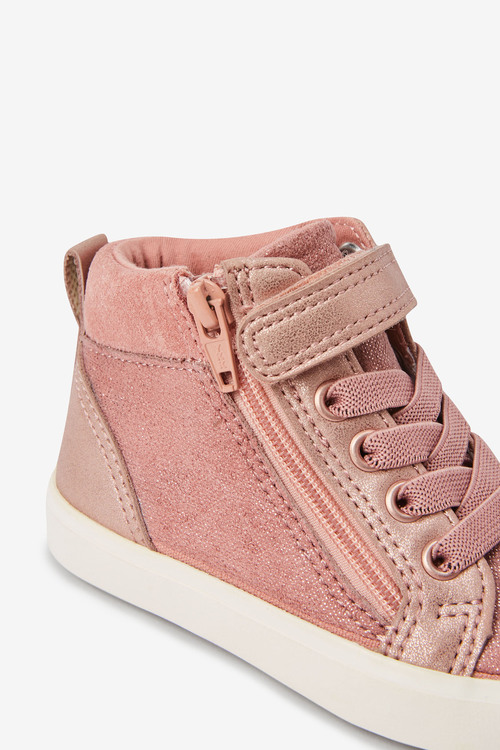 Next Elastic Lace High Top Boots (Younger)