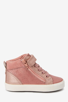 Next Elastic Lace High Top Boots (Younger) - 266194