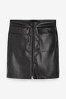 Next Faux Leather PU Mini Skirt - Tall