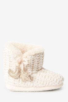 Next Chenille Slipper Boots (Younger) - 266210