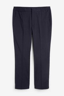 Next Stretch Plain Front Trousers-Drawstring - 266214