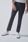 Next Stretch Plain Front Trousers-Drawstring
