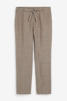 Next Linen Trousers - 266217