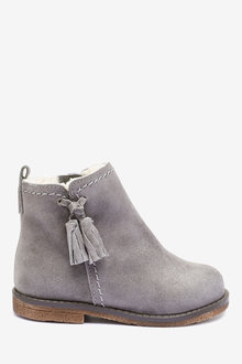 Next Suede Tassel Boots (Younger) - 266222