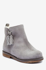 Next Suede Tassel Boots (Younger)