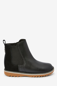 Next Leather Chelsea Boots (Younger) - 266229