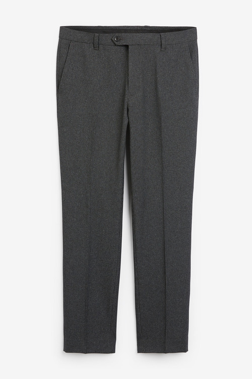 Next Puppytooth Trousers-Slim Fit