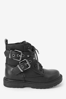 Next Chunky Lace-Up Boots (Younger) - 266232