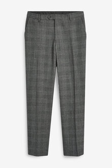 Next Stripe Pleated Slim Tapered Fit Trousers - 266247