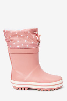 Next Warm Lined Cuff Wellies (Younger) - 266256