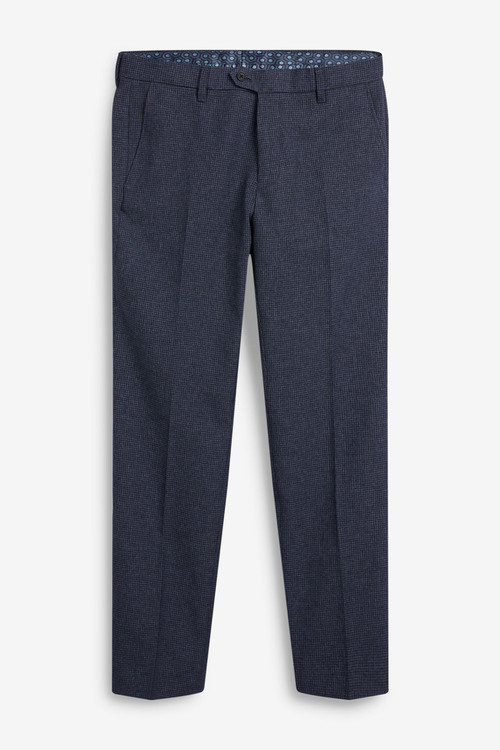 Next Puppytooth Trousers-Regular Fit