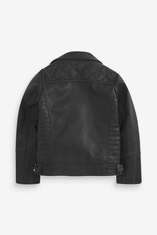 Next PU Biker Jacket (3-16yrs)