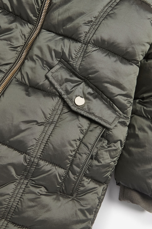 Next Two Tone Shower Resistant Padded Jacket (3-16yrs)