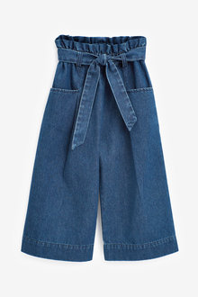 Next Check Wide Leg Trousers (3-16yrs) - 266323