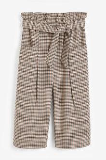 Next Check Wide Leg Trousers (3-16yrs) - 266323