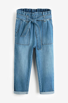 Next Paperbag Tie Waist Jeans (3-16yrs) - 266330
