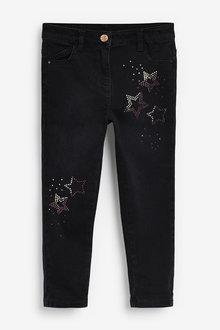 Next Star Embellishment Skinny Jeans (3-16yrs) - 266332