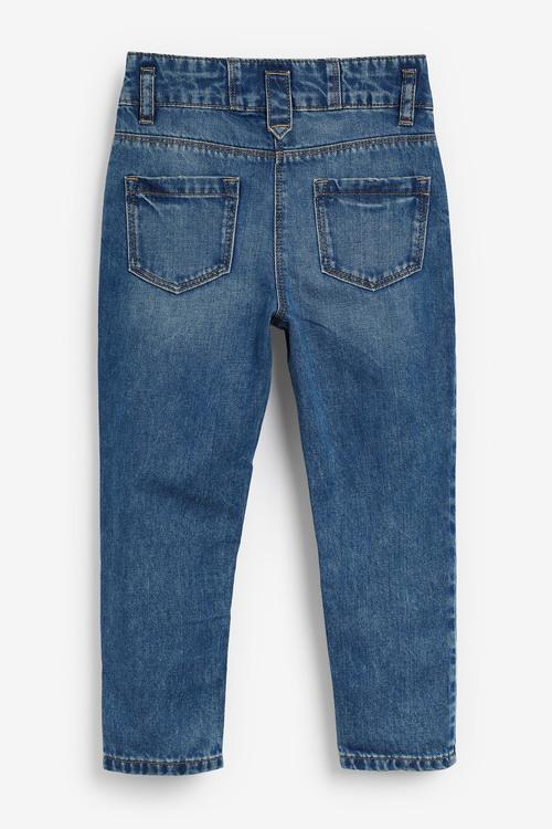 Next Drop Waistband Mom Jeans (3-16yrs)