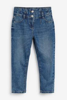 Next Drop Waistband Mom Jeans (3-16yrs) - 266339